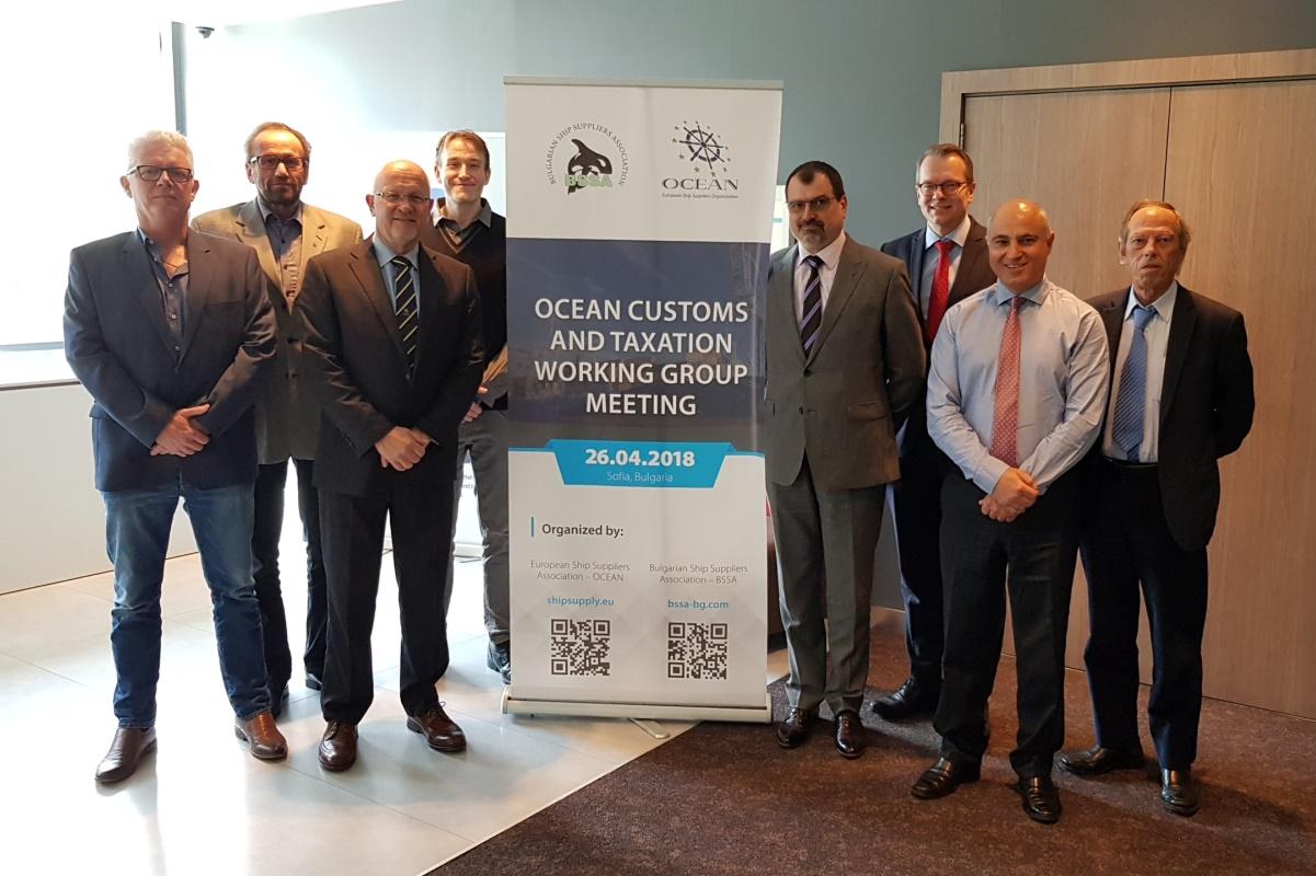 Срещи на Борда и Работната група по митническите въпросите на Европейската Организация на Корабните Снабдители (OCEAN)